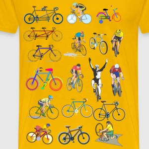 Bicycles - Men's Premium T-Shirt