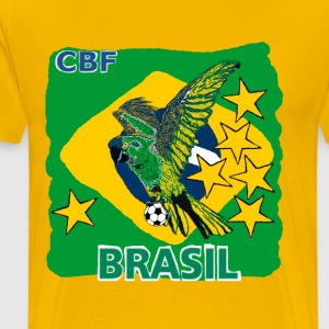 World Cup Brazil Soccer (Football) - Men's Premium T-Shirt