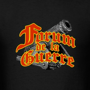 Logo officiel Forum de la Guerre T-Shirts - Men's T-Shirt