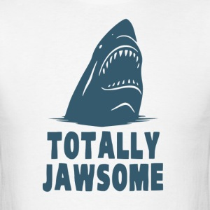Totally Jawsome Awesome Shark T-Shirts - Men's T-Shirt