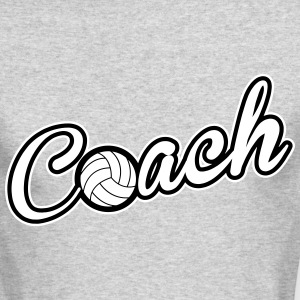 Coach Long Sleeve Shirts - Men's Long Sleeve T-Shirt by Next Level