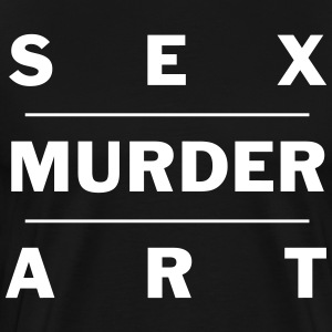 Sex Murder Art - Men's Premium T-Shirt