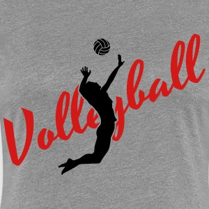 Volleyball Women's T-Shirts - Women's Premium T-Shirt