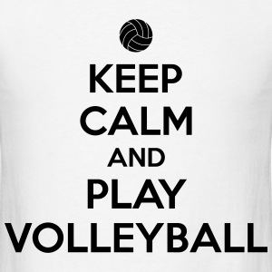 Keep calm and play volleyball T-Shirts - Men's T-Shirt