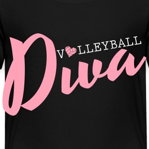 Volleyball Diva Baby & Toddler Shirts - Toddler Premium T-Shirt