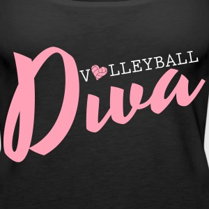 Volleyball Diva Tanks - Women's Premium Tank Top