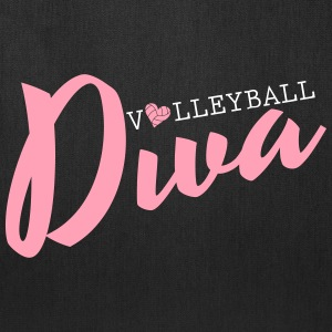 Volleyball Diva Bags & backpacks - Tote Bag