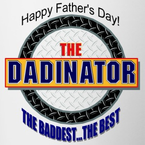 The Dadinator Bottles & Mugs - Contrast Coffee Mug