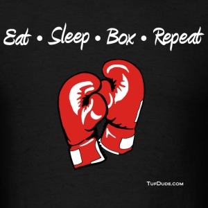 Eat Sleep Box Repeat 005 T-Shirts - Men's T-Shirt