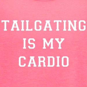 Tailgating Is My Cardio - Women's Flowy Tank Top by Bella