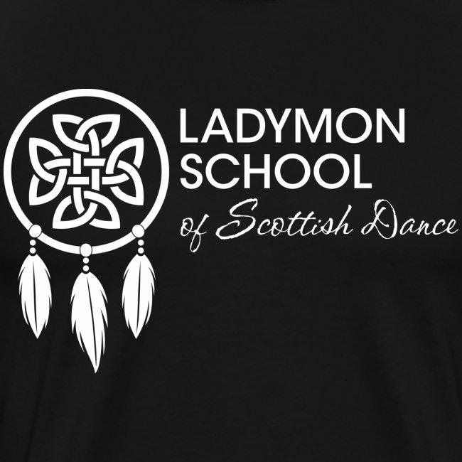 Unisex White Ladymon Logo Shirt