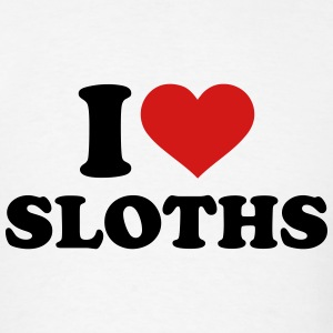 I love Sloths T-Shirts - Men's T-Shirt