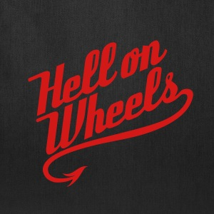 Hell on Wheels 1c Bags & backpacks - Tote Bag
