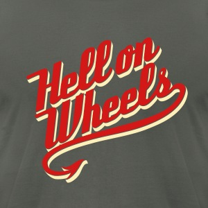 Hell on Wheels 2c T-Shirts - Men's T-Shirt by American Apparel