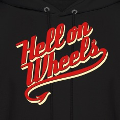 Hell on Wheels 2c Hoodies