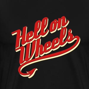 Hell on Wheels 2c T-Shirts - Men's Premium T-Shirt
