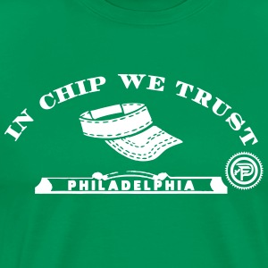 In Chip We Trust T-Shirts - Men's Premium T-Shirt