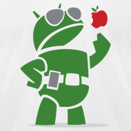 Design ~ Android eats apples