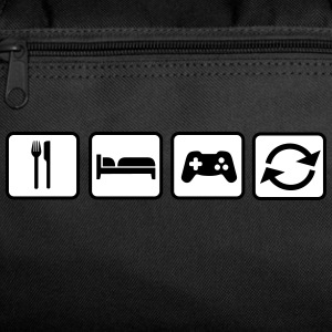 Eat Sleep Game Repeat Bags & backpacks - Duffel Bag
