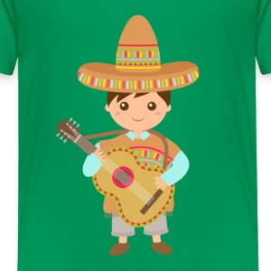 boy mexican guitar Baby & Toddler Shirts - Toddler Premium T-Shirt