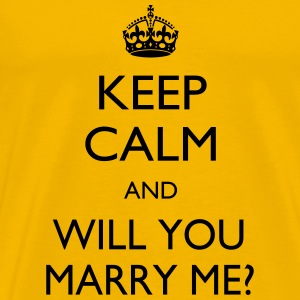 Marry me - Men's Premium T-Shirt