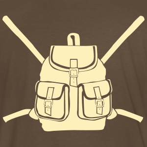 Backpack with buckles Shirt - Men's Premium T-Shirt