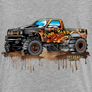 Mud Truck Junk Yard Diva Baby & Toddler Shirts - Toddler Premium T-Shirt