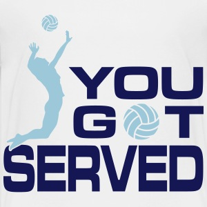 volleyball: you got served Kids' Shirts - Kids' Premium T-Shirt