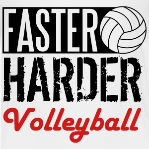 Faster, harder, volleyball Kids' Shirts - Kids' Premium T-Shirt