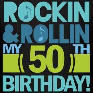50th Birthday Rock & Roll T-Shirts - Men's T-Shirt