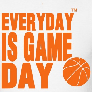 EVERYDAY IS GAME DAY BASKETBALL - Men's T-Shirt