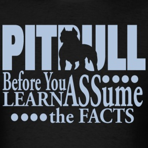 Pit Bull Lesson - Men's T-Shirt