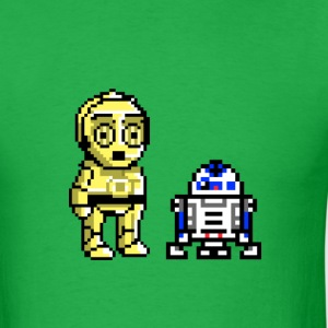 C3PO AND R2D2 - Men's T-Shirt