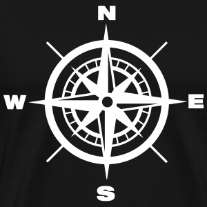 Compass Print - Men's Premium T-Shirt