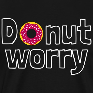 Donut worry T-Shirts - Men's Premium T-Shirt