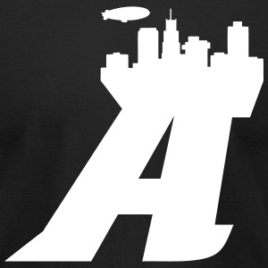 Akron T-Shirts - Men's T-Shirt by American Apparel