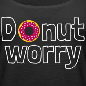 Donut worry Tanks - Women's Premium Tank Top