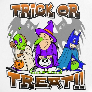 Trick Or Treat Buttons - Large Buttons