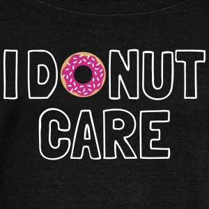 i donut care Long Sleeve Shirts - Women's Wideneck Sweatshirt