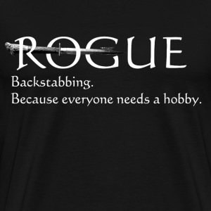 Rogue - backstabbing - Men's Premium T-Shirt