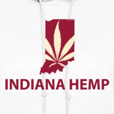 Indiana Hemp Company Logo Hoodies