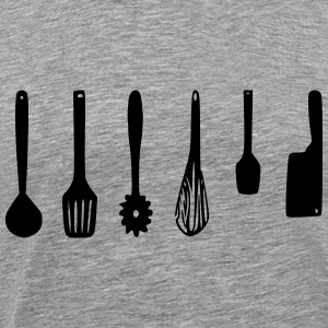 Kitchen Utensils - Men's Premium T-Shirt