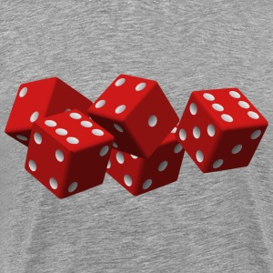 Red Dice - Men's Premium T-Shirt
