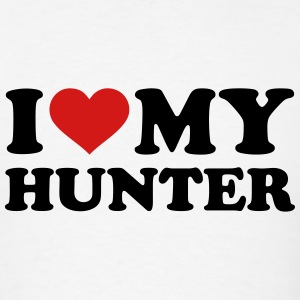 I love my Hunter T-Shirts - Men's T-Shirt