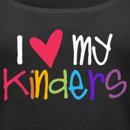 Design ~ Love My Kinders | Prism | Teacher Shirts