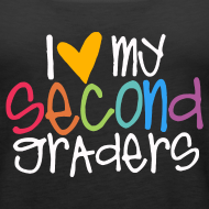 Design ~ Love My Second Graders | Prism | Women's Tank Top