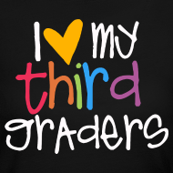 Design ~ Love My Third Graders | Colorful | Women's Long Sleeve
