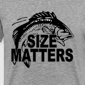 size_matters_funny_fishing - Men's Premium T-Shirt