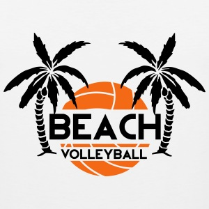 Beach Volleyball Men - Men's Premium Tank