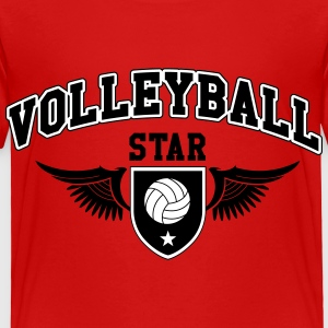 Volleyball star Baby & Toddler Shirts - Toddler Premium T-Shirt
